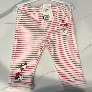 Other - H and M baby girl Disney pants New